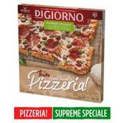 DiGiorno PIZZERIA! Thin Hand-Tossed Style Crust Supreme Speciale Frozen Pizza