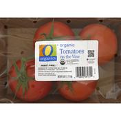 O Organics Tomatoes, Organic, on the Vine