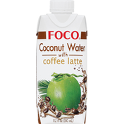 Foco Coconut Water with Coffee Latte