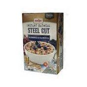 Meijer Steel Cut Instant Oatmeal