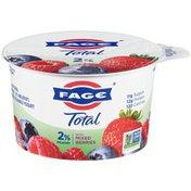 FAGE Milkfat Greek Strained Yogurt with Mixed Berries