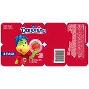Dannon Yogurt Strawberry Dairy Snack