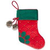 Holiday Paw Print Stocking