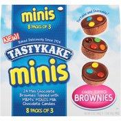Tastykake Minis Candy Topped Brownies
