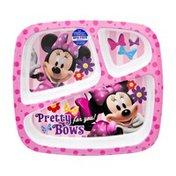 Disney Zak Minnie Mouse 3 Section Tray
