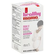 Healthy Mama Stool Softener, Move It Along!, Crushable Tablets, Box