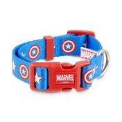 Small Marvel Captain America Adjustable Dog Collar