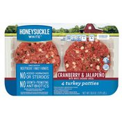 Honeysuckle White® Cranberry & Jalapeno with White Cheddar Cheese Turkey Patties