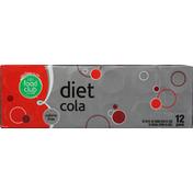 Food Club Cola, Diet, 12 Pack