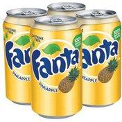 Fanta 12 Oz Pineapple Soda