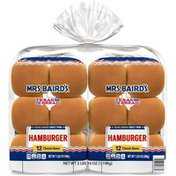 Mrs. Baird's Hamburger Buns Twin Pack