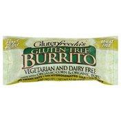 Glutenfreeda Burrito, Gluten-Free, Vegetarian and Dairy Free