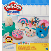 Play-Doh Delightful Donuts Set, Kitchen Creation