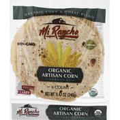 Mi Rancho Tortillas, Organic, Artisan Corn