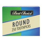 Best Choice Round Toothpicks