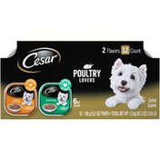 CESAR Poultry Lovers Dog Food Variety Pack