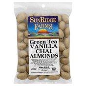 SunRidge Farms Nuts, Vanilla Chai Almonds, Green Tea, Bag