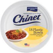 Chinet 20 oz. Plastic Bowls