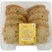 Southeastern Grocers Creme Cake, Sliced, Banana Nut