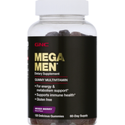 GNC Multivitamin, 60-Day Supply, Delicious Gummies, Mixed Berry