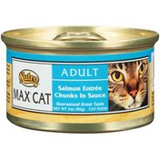 Nutro MAX CAT Adult Salmon Entree Chunks in Sauce Cat Food