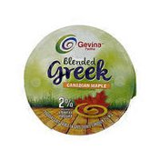 Gevina 2% Blended Greek Canadian Maple Yogurt