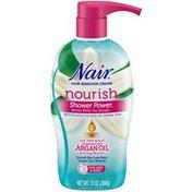 Nair Hair Remover Cream Nourish Shower Power Moroccan Argan Oil