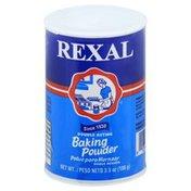 REXAL Baking Powder, Double Acting