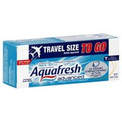 Aquafresh Toothpaste, Fluoride, Freshest Ever Mint, Travel Size To Go