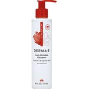 DERMA E Cleanser, Anti-Wrinkle