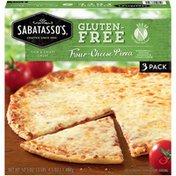 Sabatasso's Gluten-Free Four-Cheese Pizza