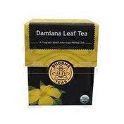 Buddha Teas 100% Organic Herbal Damiana Leaf Tea