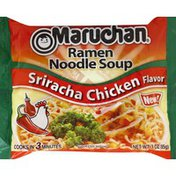 Maruchan Ramen Noodle Soup, Sriracha Chicken Flavor