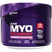 EAS Myoplex Pre-Workout Lemonberry EAS Myoplex Pre-Workout Dietary Supplement Lemonberry Powder Powder Pack