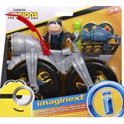 Imaginext Gru's Rocket Bike, Minions The Rise of Gru
