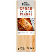 Fire & Flavor Cedar Grilling Planks