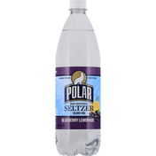 Polar Seltzer, 100% Natural,  Blueberry Lemonade
