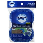 Dawn Scrubbers, Poly Mesh, 2 Pack!