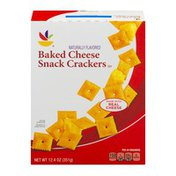 SB Baked Cheese Snack Crackers
