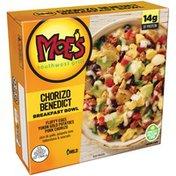 Kellogg's Moe's Chorizo Benedict Breakfast Bowl