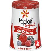 Yoplait Original Yogurt, Mixed Berry, Low Fat Yogurt