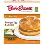Bob Evans Farms Sausage, Egg & Cheese Croissants