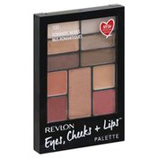 Revlon Eyes, Cheeks + Lips Palette, Romantic Nudes 100