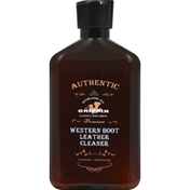 Griffin Boot Leather Cleaner, Western