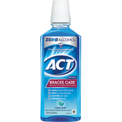 ACT Mouthwash, Anticavity Fluoride, Clean Mint