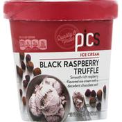 PICS Ice Cream, Black Raspberry Truffle