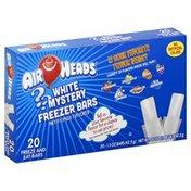 Airheads Freezer Bars, White Mystery