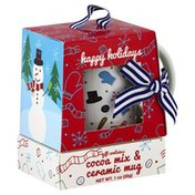 Msrf Happy Holidays Gift, Cocoa Mix & Ceramic Mug
