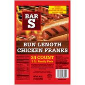 Bar-S Bun Length Chicken Franks