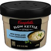 Campbell's® Slow Kettle® New England Clam Chowder